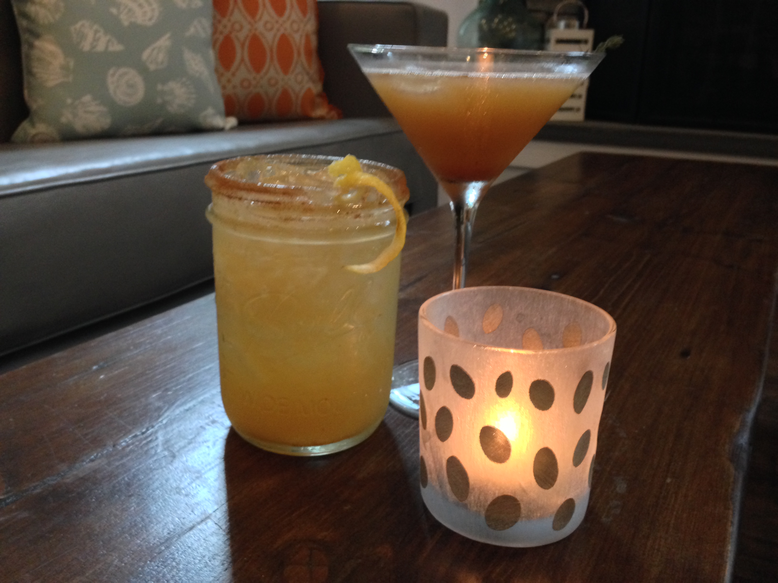 Fall craft cocktails the corner stop eatery for Craft cocktails near me